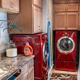 Traditional Laundry Room by M Studio West