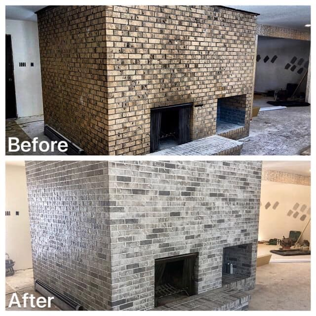 Brickimaging Has Been Permanently Staining Brick Block Stone And Mortar Since 1976 In 2020 Stained Brick Stained Brick Exterior Exterior Brick