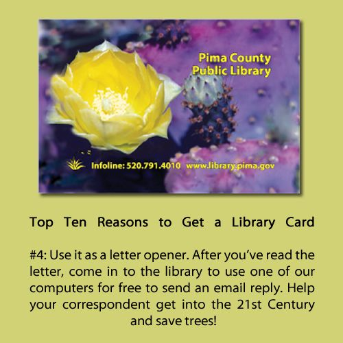 2012: Top 10 Reasons to Get a Library Card