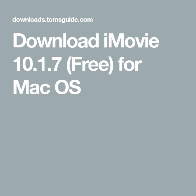 Imovie download apple