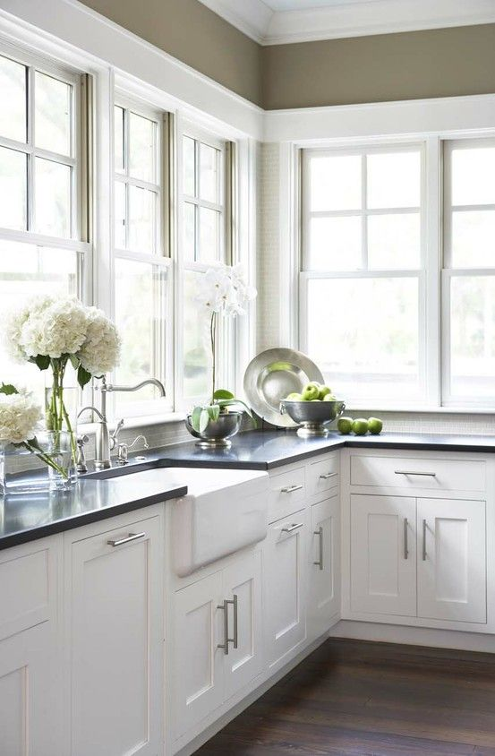 White Cabs Dark Counter Kitchen Design Trends Www Magnificent Counter Kitchen Design Decorating Design