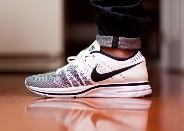 Obsessed. Nike Flyknit Trainers + Selvedge denim