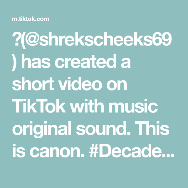 Shrekscheeks69 Has Created A Short Video On Tiktok With Music Original Sound This Is Canon De The Originals Tyler The Creator Funny Relatable Memes