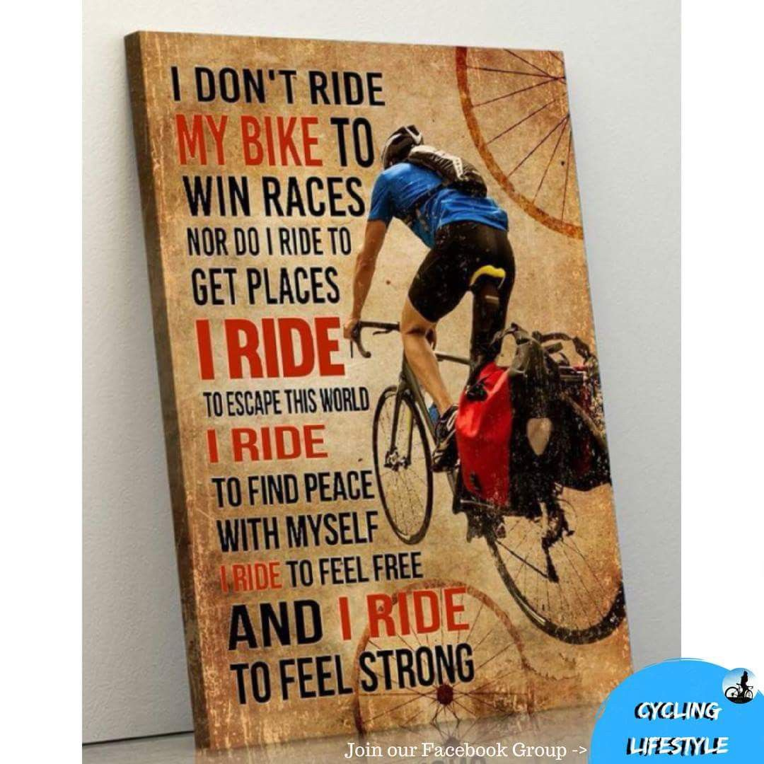 Pin By David Mansfield On Cycling Gear Bike Biker Quotes My Ride