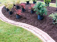 How To Install A Brick Garden Border - Part II - now to find part I