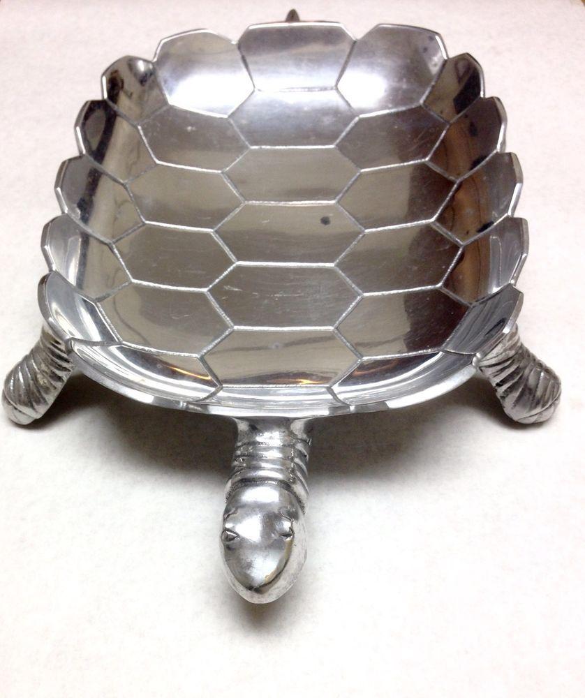 Aluminum Decorative Tray Large Aluminum Turtle Tray Tortoise Bowl Decorative Plate  Trays