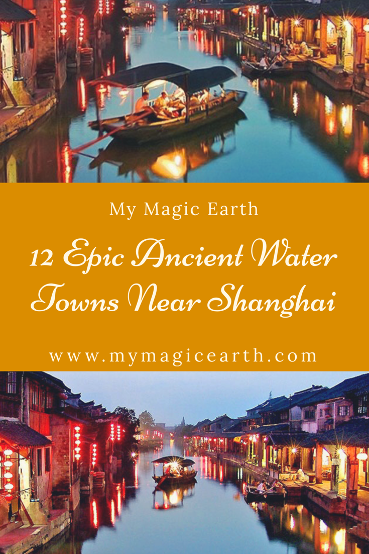 12 Epic Ancient Water Towns Near Shanghai Are Totally Diffe From They Worth For A Trip By All Means When Traveling To
