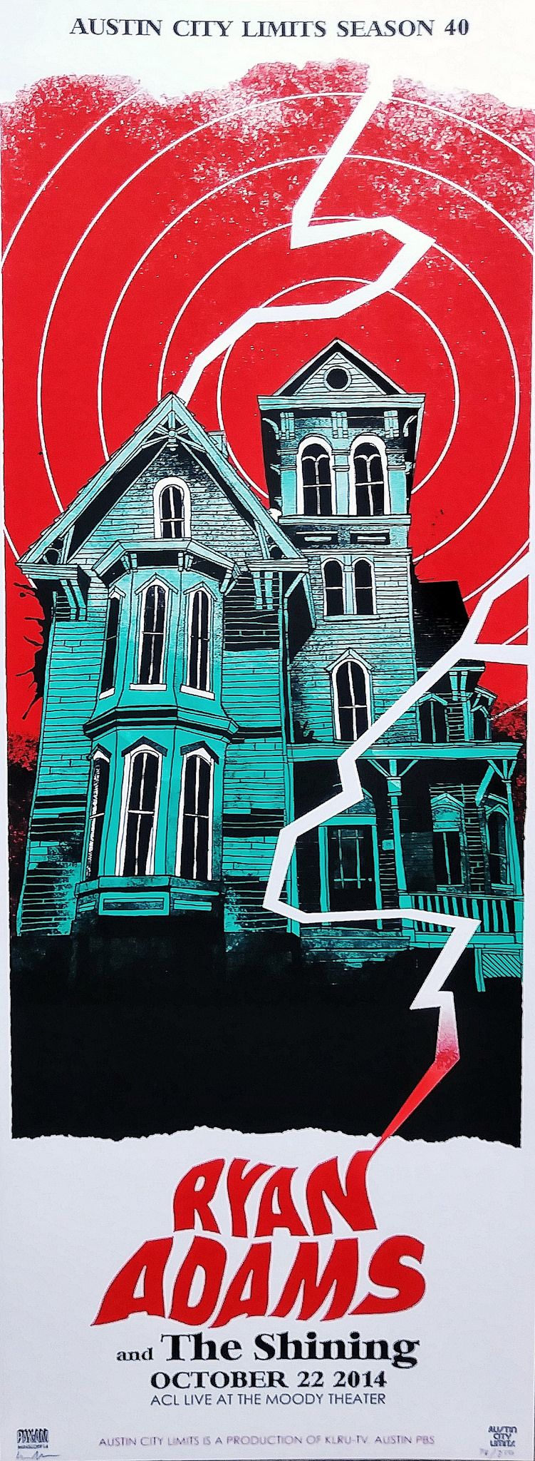 Ryan Adams Ryan Adams Concert Posters Austin City Limits