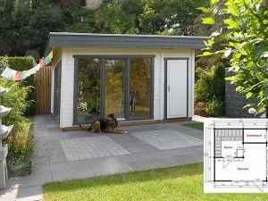 gartenhaus mit sauna und ger teraum rosengarten pinterest saunas and gardens. Black Bedroom Furniture Sets. Home Design Ideas