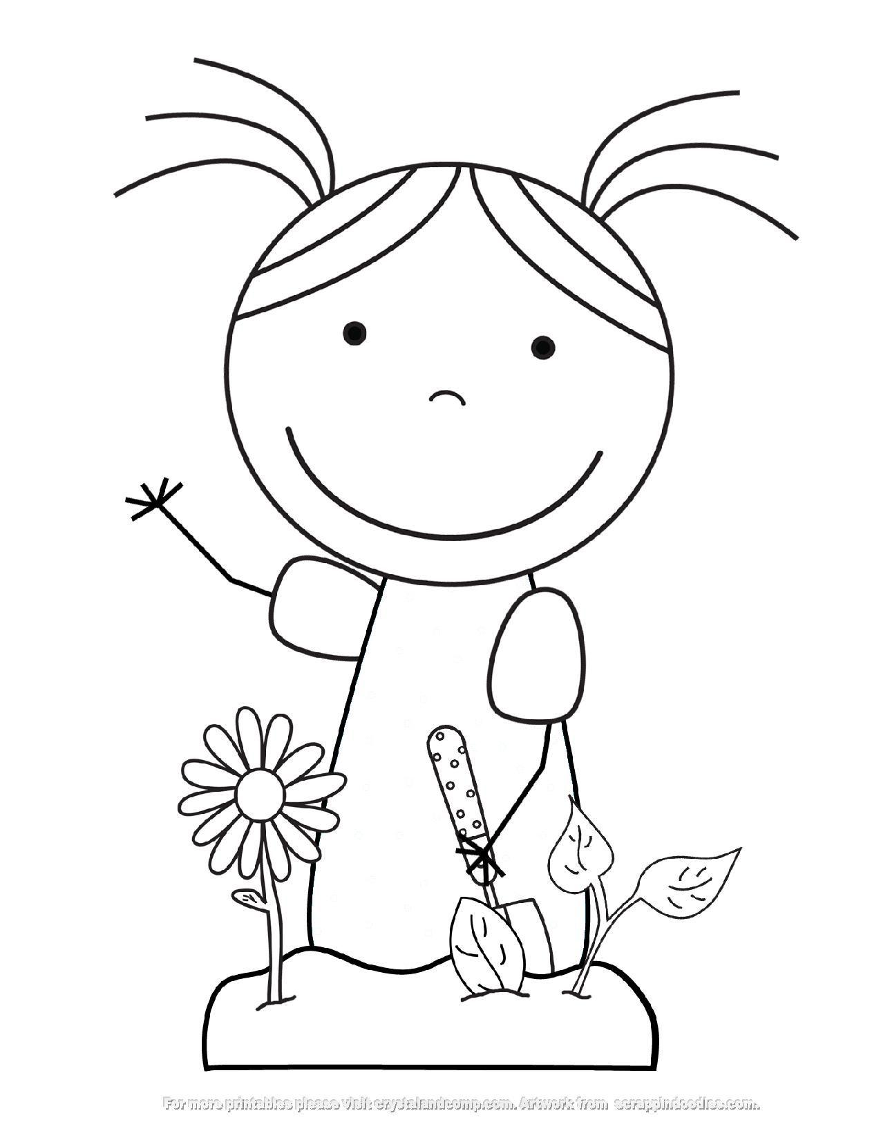 dievča 6 | boyama/resim | Pinterest | Fichas preescolar, Ser ...