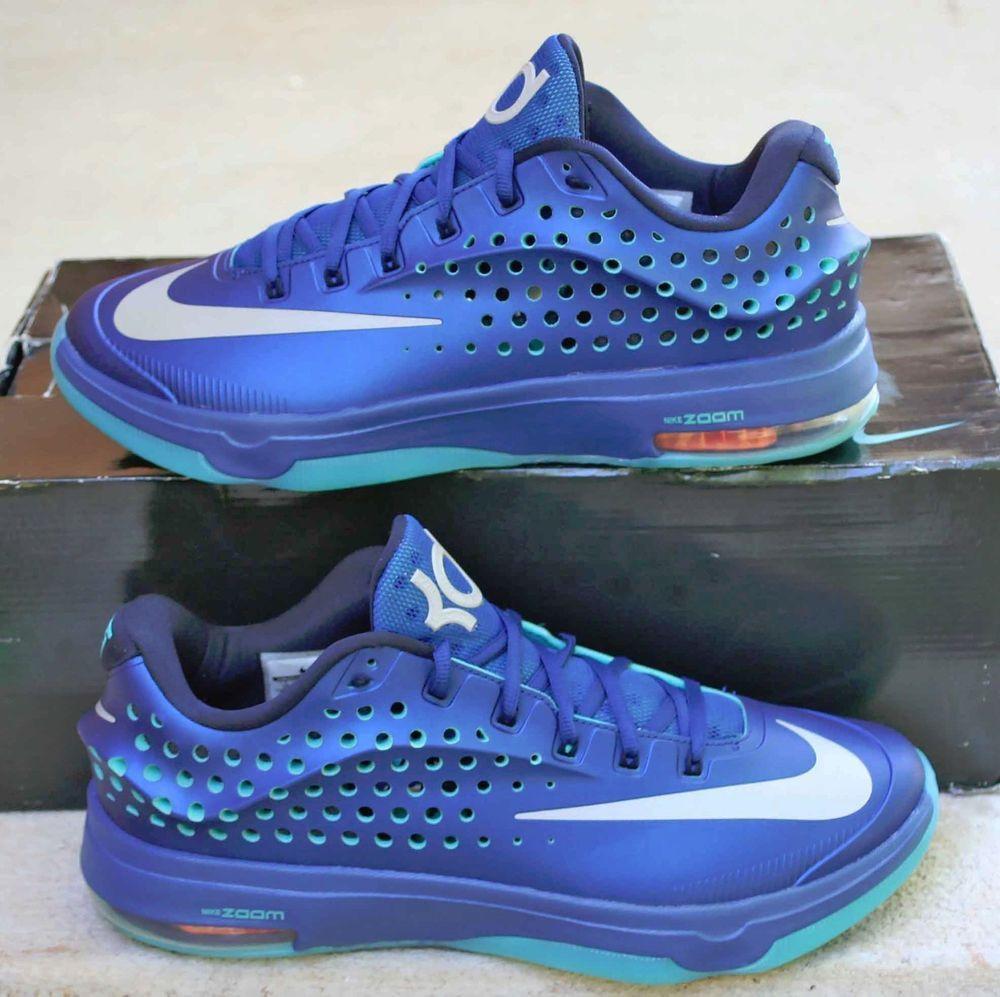 1f2eaec2fc42 Nike KD 7 Elite Size 11 Blue Men s Basketball Shoes Elite Series 724349-404   Nike  BasketballShoes