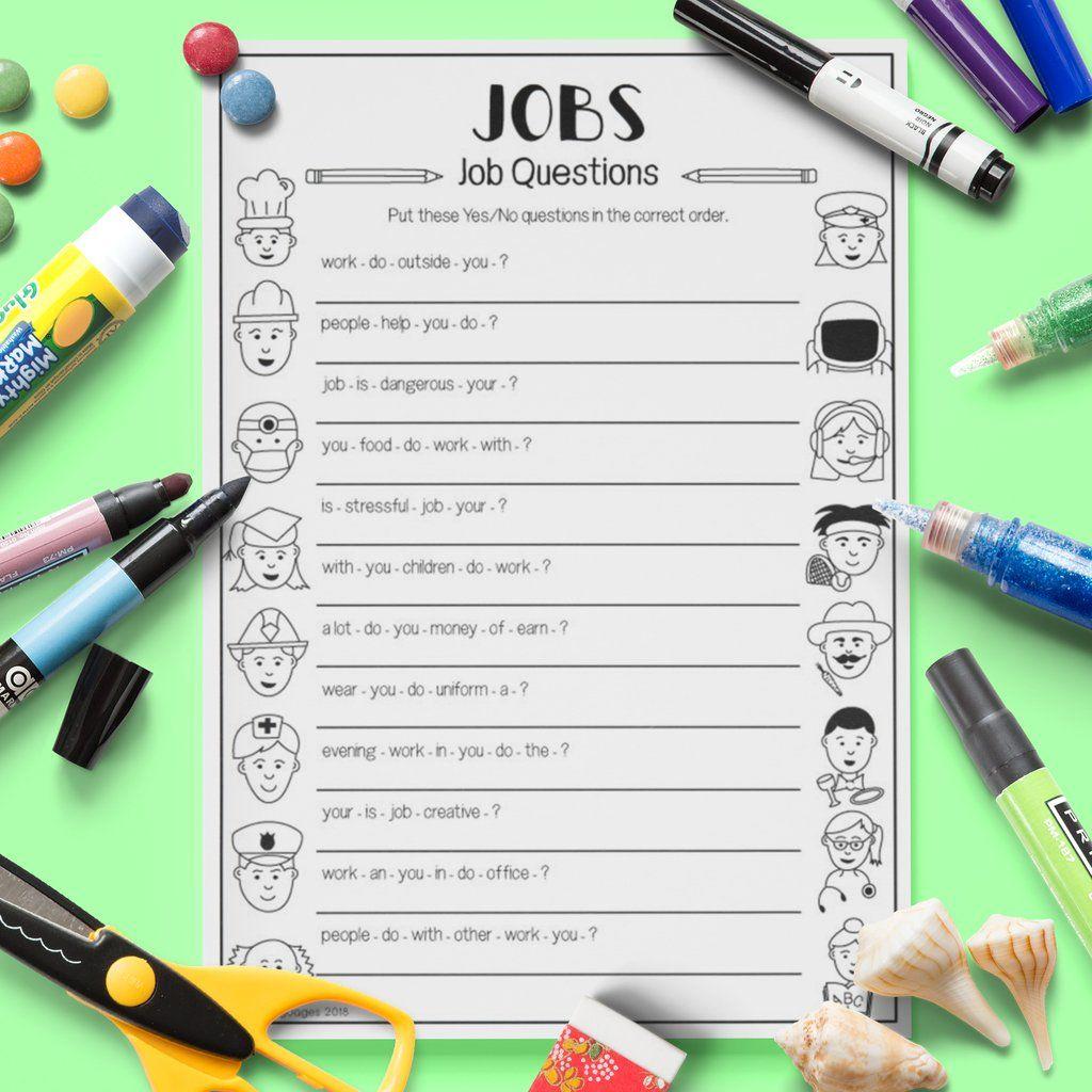 Jobs Questions