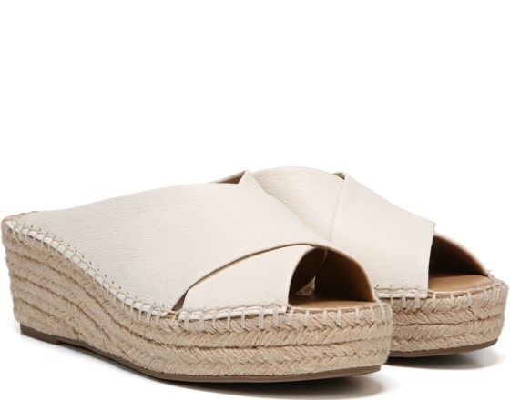 e6095d144b9 Franco Sarto Polina Espadrille Wedge Sandal Milk Leather | Footwear ...
