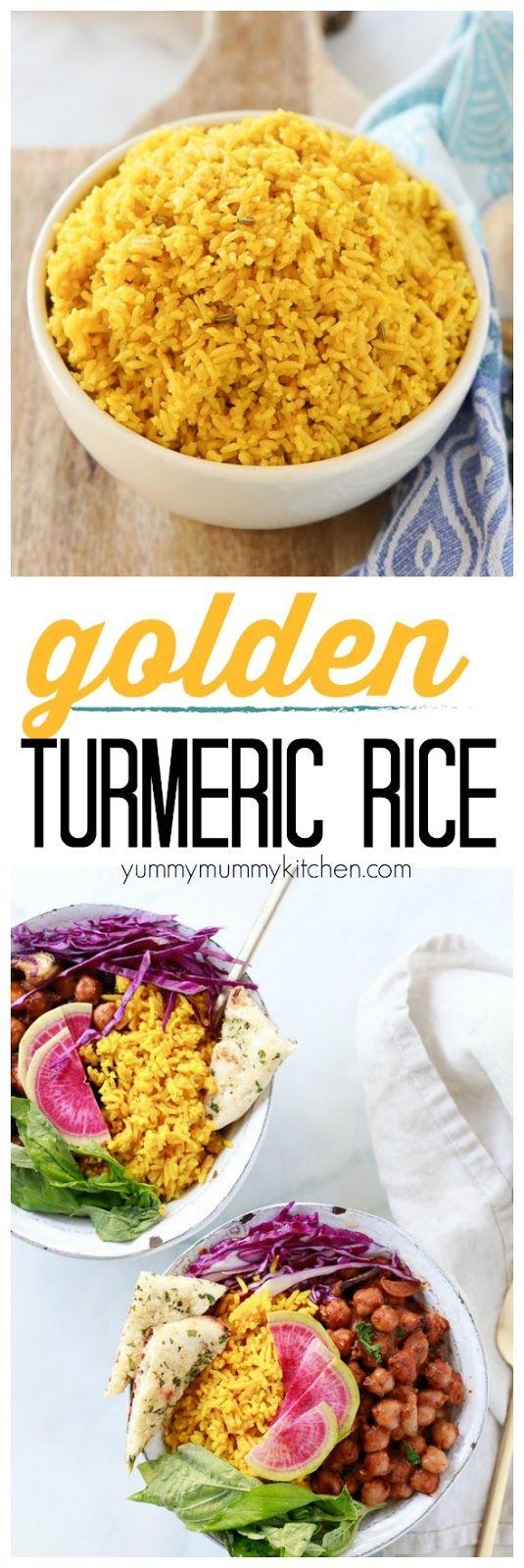 Golden Spiced Turmeric Rice