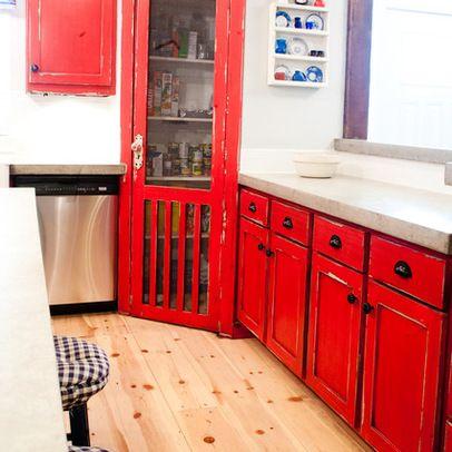 Pantry door ... love!   Contemporary kitchen, Farmhouse ...