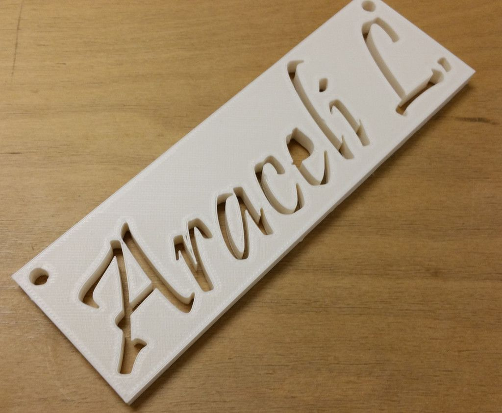Uncategorized Printed Names 3d printed name tag available for custom order customorder order
