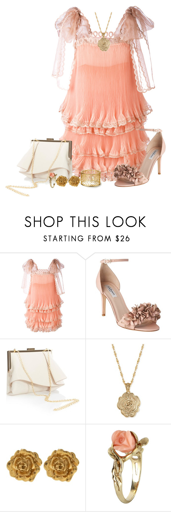 """Girly"" by freida-adams ❤ liked on Polyvore featuring Chloé, L.K.Bennett, Coast, 2028, Liberty and Vintage"