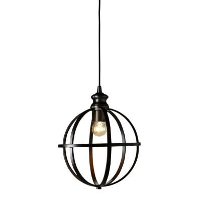 Pendant Light Conversion Kit Inspiration Home Decorators Collection 1Light Globe Bronze Pendant Conversion Decorating Design