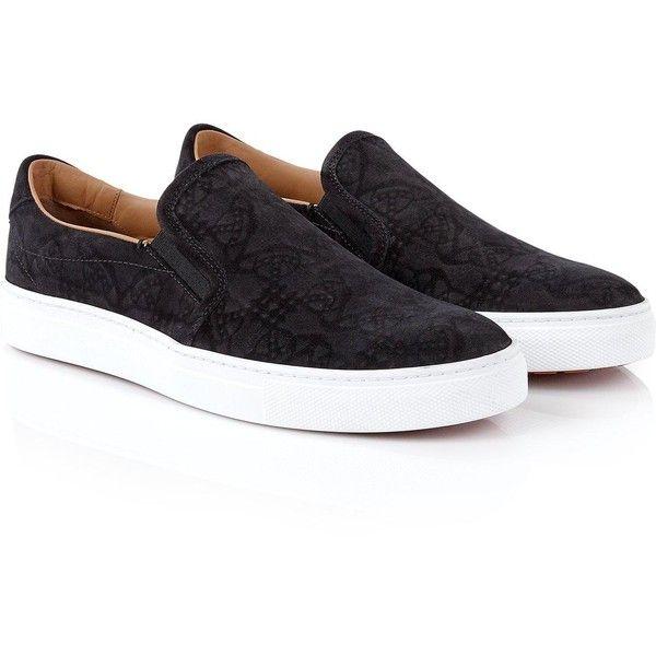sneakers, Black slip on shoes