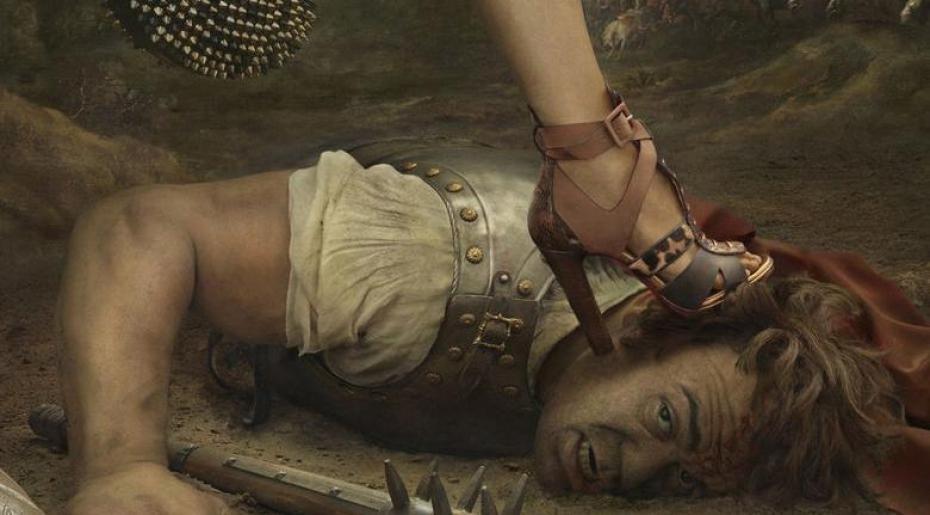 "Christian Louboutin, Lookbook Fall 2013 ""A Ruben's fantasy"", by Peter Lippmann"
