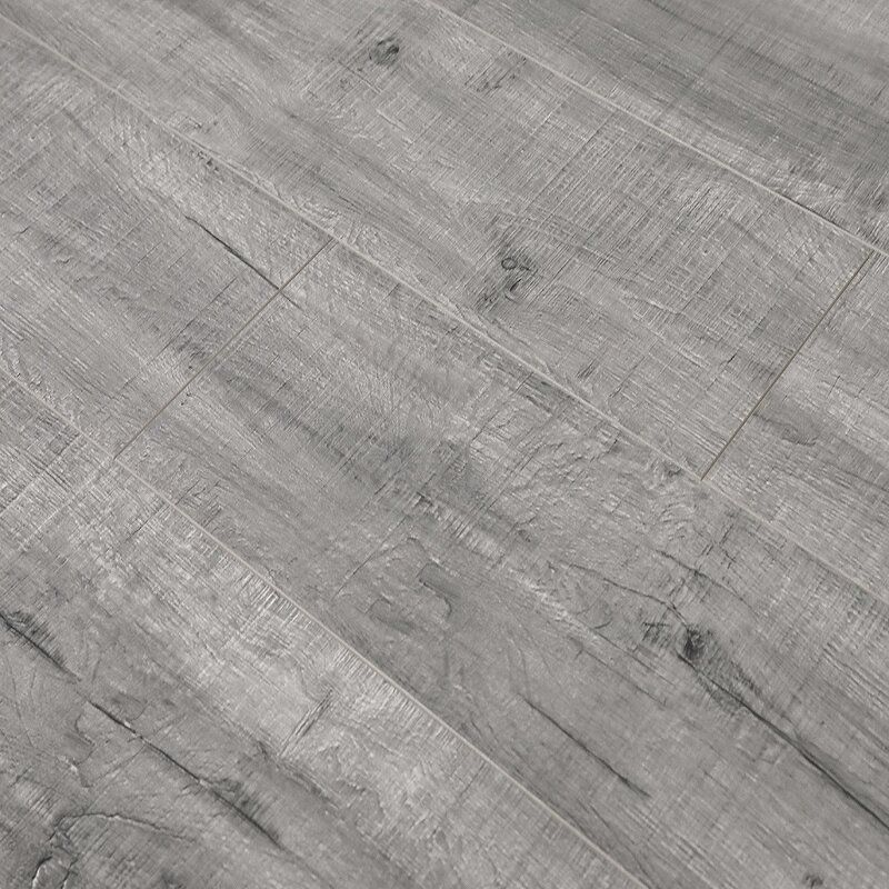 Pearl Leather 8 X 49 X 12mm Laminate Flooring In 2020 Laminate Flooring Colors Gray Wood Tile Flooring Laminate Flooring