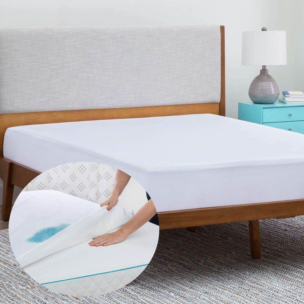 Waterproof Cover Breathable Mattress Protector Bed Bug