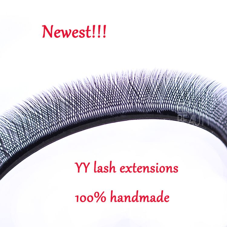 6e994f3253a 2018 newest volume YY eyelash extensions 100% hand woven wholesale China  EL25