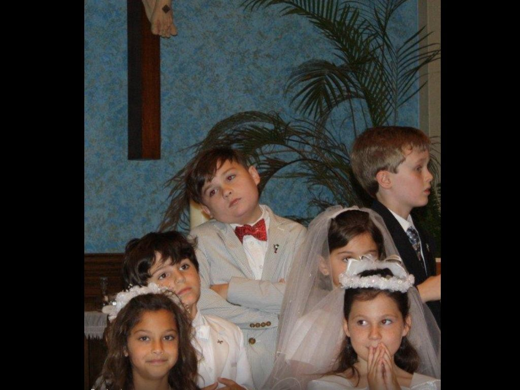 My spectrum kid and his neurotypical classmates.  https://herheiness.wordpress.com/2012/11/09/an-autistic-fairy-tale/