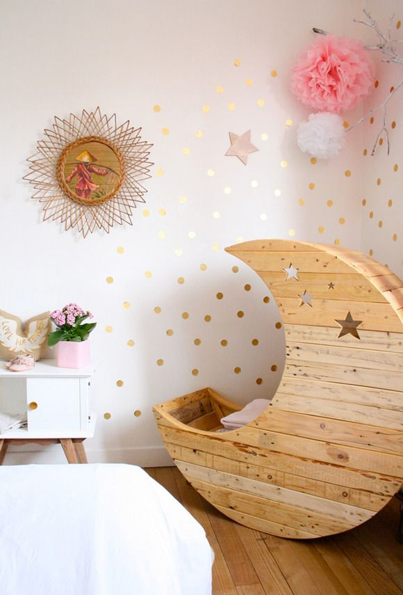 La mini cuna Luna de Crème Anglaise   IreneRafa   Pinterest   Mini ...