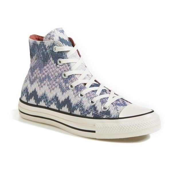 24f9fedde65dfd Women s Converse x Missoni Chuck Taylor All Star High Top Sneaker ( 105)  found on Polyvore
