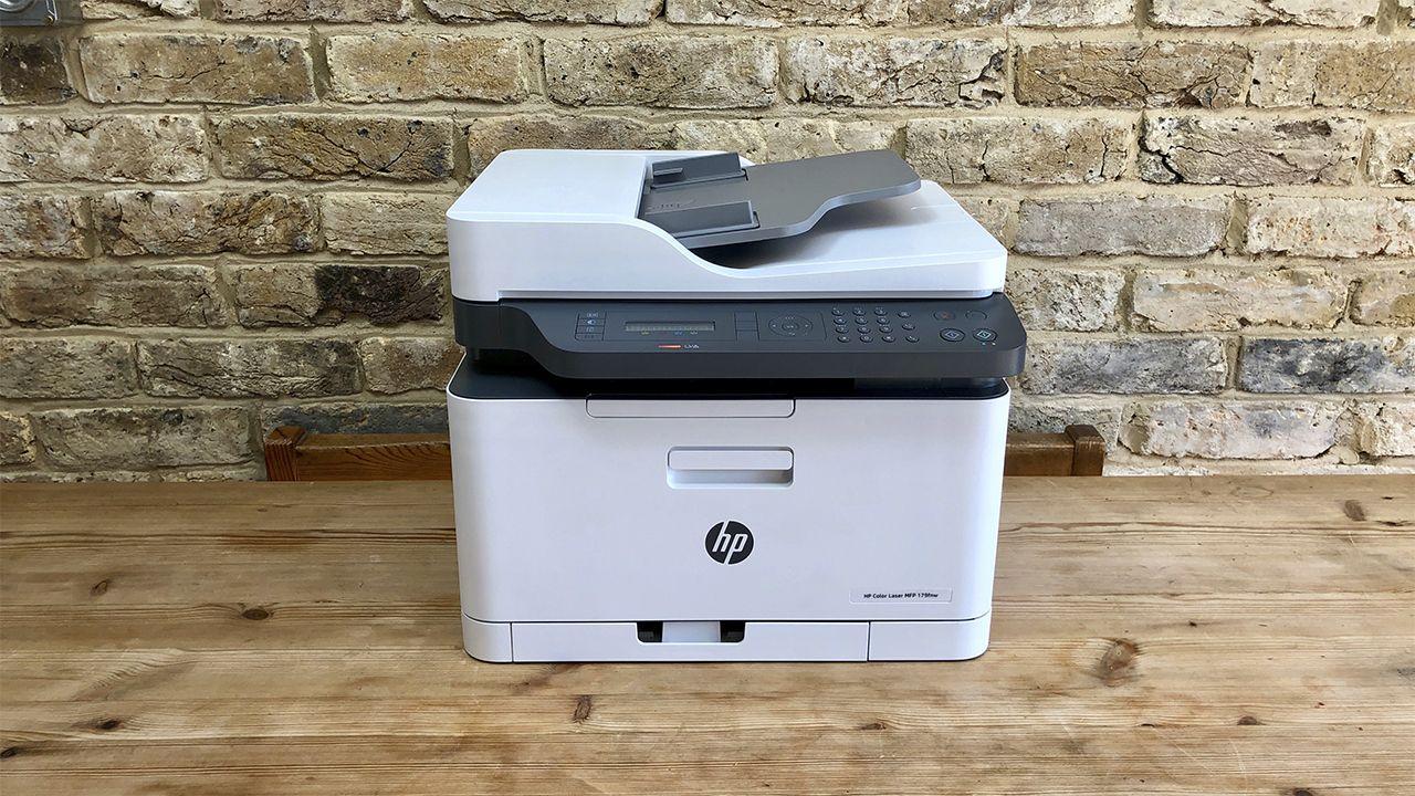 Hp Color Laser 179fnw Pequena Impresora Multifuncion E