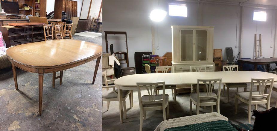 Have your furniture painted at foxwoodrestorations.com near Novi MI