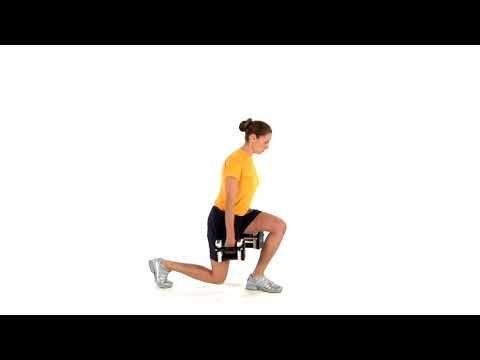 navy fitness  split squat  dumbbell  split squat