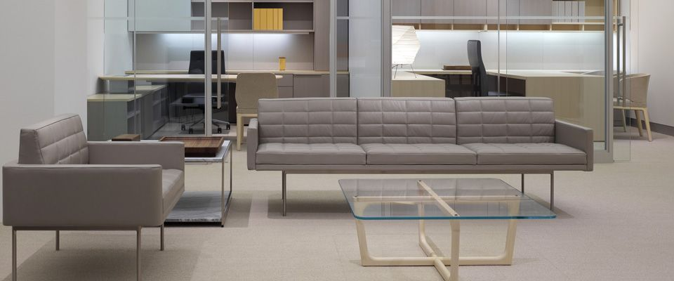 Tuxedo Lounge Seating Designed To Anchor Es Without Visually Overing Their Surroundings
