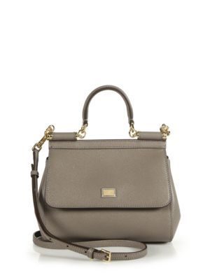 45e6d54231 DOLCE   GABBANA Small Miss Sicily Leather Top-Handle Satchel.  dolcegabbana   bags  shoulder bags  hand bags  leather  satchel