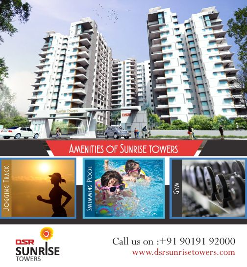 Dsr Sunrise Towers 3 Bhk Apartments For Sale Channasandra Main Road Sunrise Tower Sunrise Tower