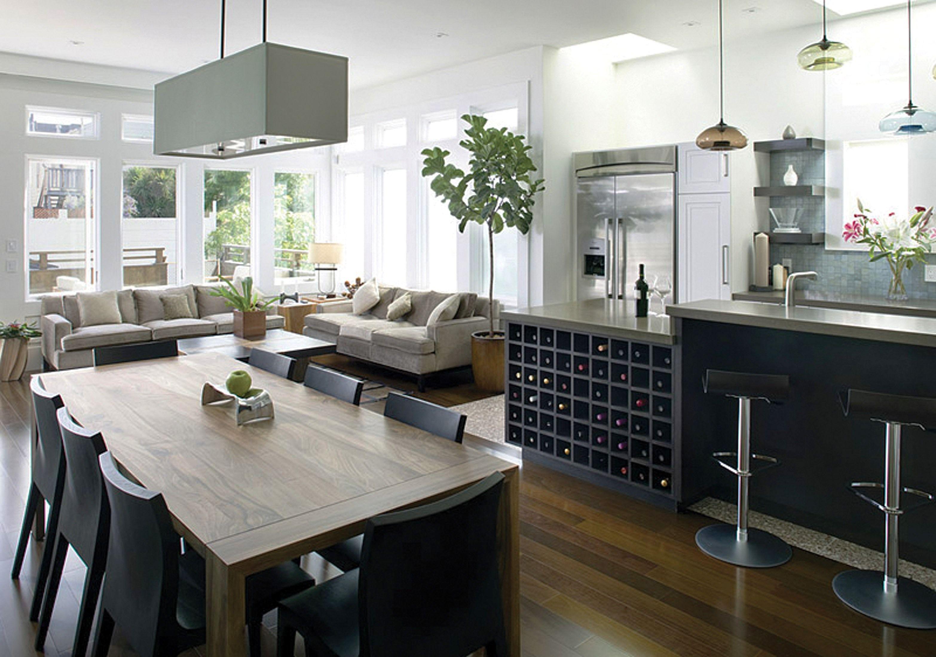 Gorgeous Rectangle Shape Ceiling Kitchen Lighting Over Breakfast Cool Rectangular Dining Room Lighting Design Inspiration