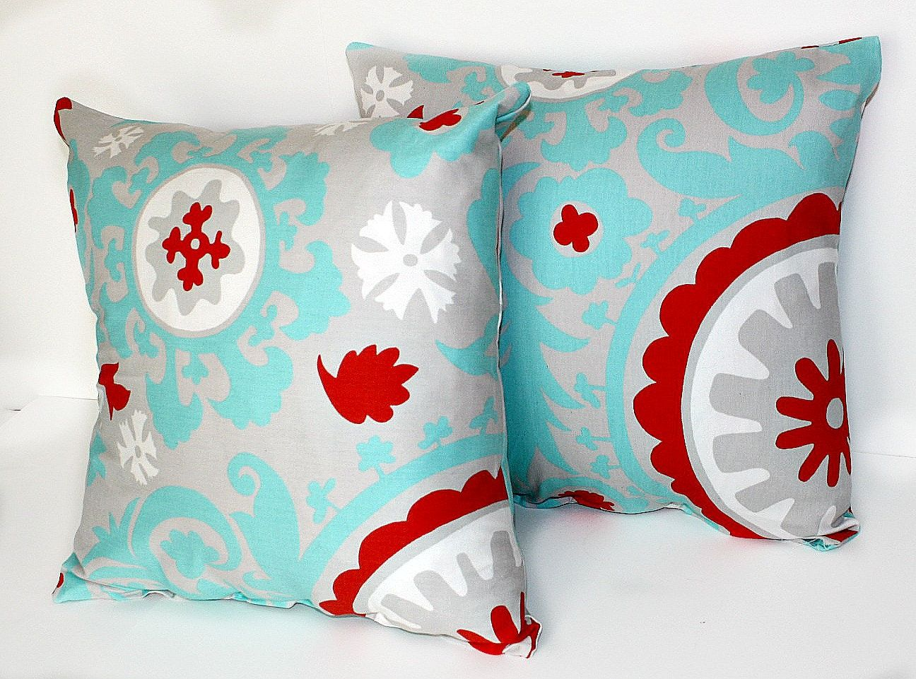 Etsy Throw Pillows 2 Decorative Pillow Covers Throw Pillows 18 X 18 Inches Gray