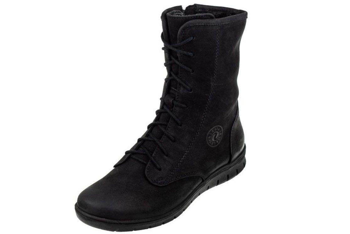 Lesta 6503 Czarne Damskie Botki Combat Boots Army Boot Boots