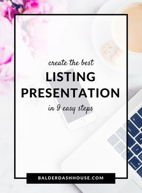 Realtor Listing Presentation Template   Create The Best Listing Presentation In 9 Steps Worth Reading