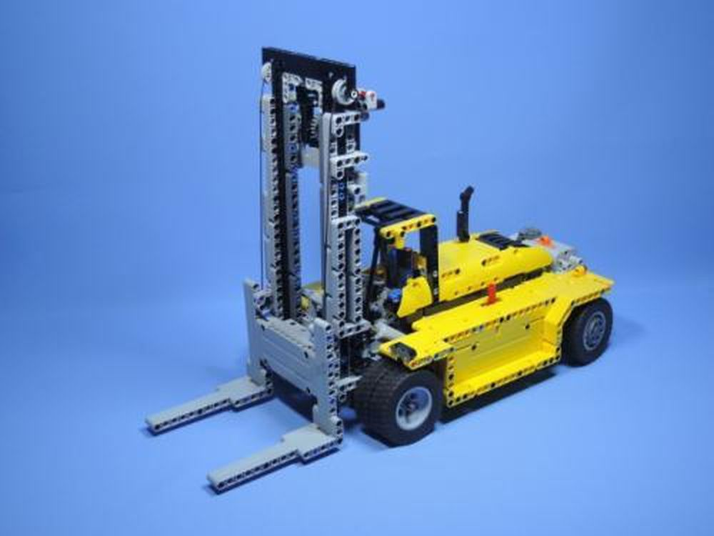 Lego Moc Moc 2298 42009 Alternate Heavy Duty Forklift Building