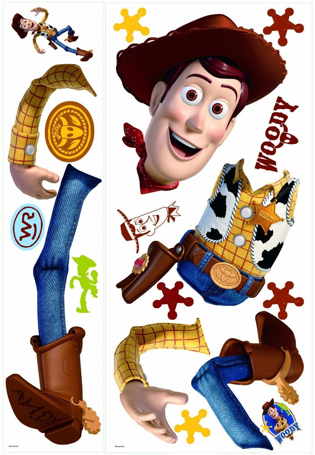 Toy Story Woody Giant Wall Decal | Wall decals, Cowboys and Toy