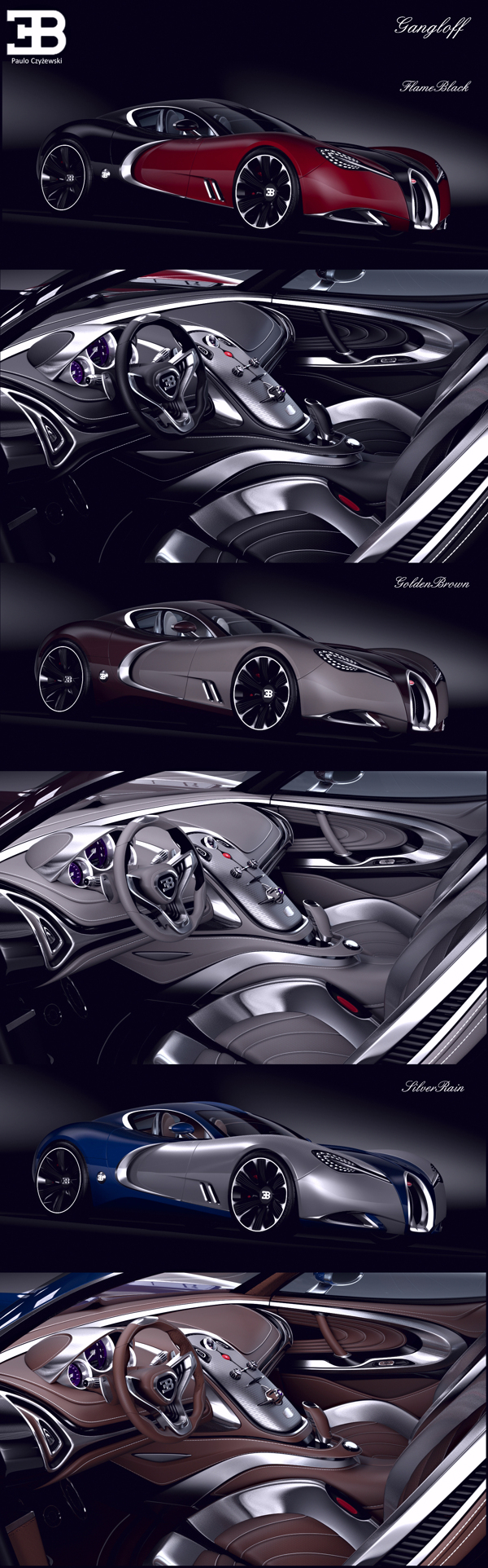 Bugatti Gangloff concept. Breath taking, stunning car.