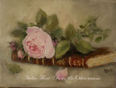! Fine Art painting ✿Roses and other seasons