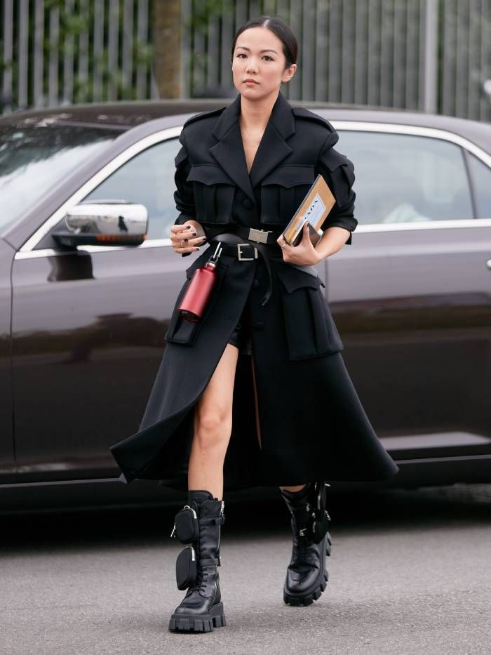 Milan Fashion Week September 2019 Street Style   Who What Wear UK. #fashion #winterfashion #fashiontrends #streetstyle #women'sfashion