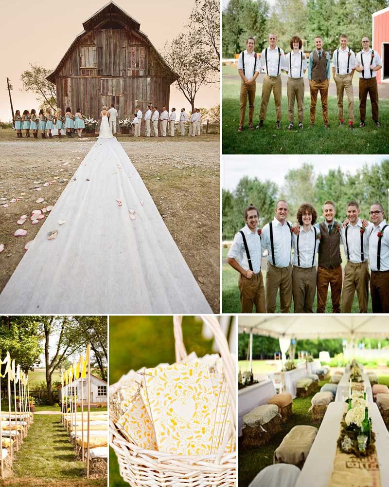 Chic Farm Weddings - SA Farm Wedding Venues & Ideas!