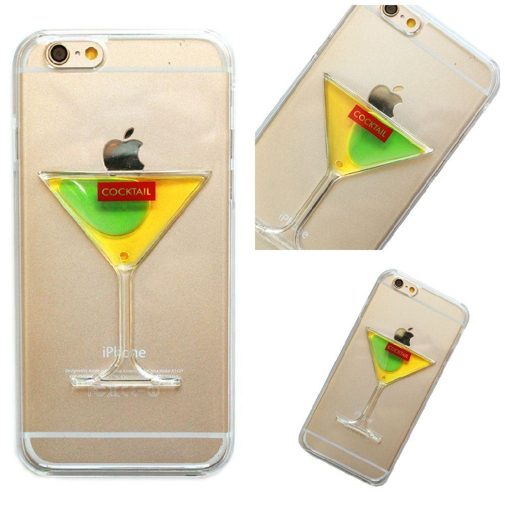 iPhone 6 Plus, 6, 5/5S - Martini Lovers Dream Case in Assorted Colors