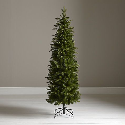 buy john lewis slender spruce christmas tree 6ft online at johnlewiscom