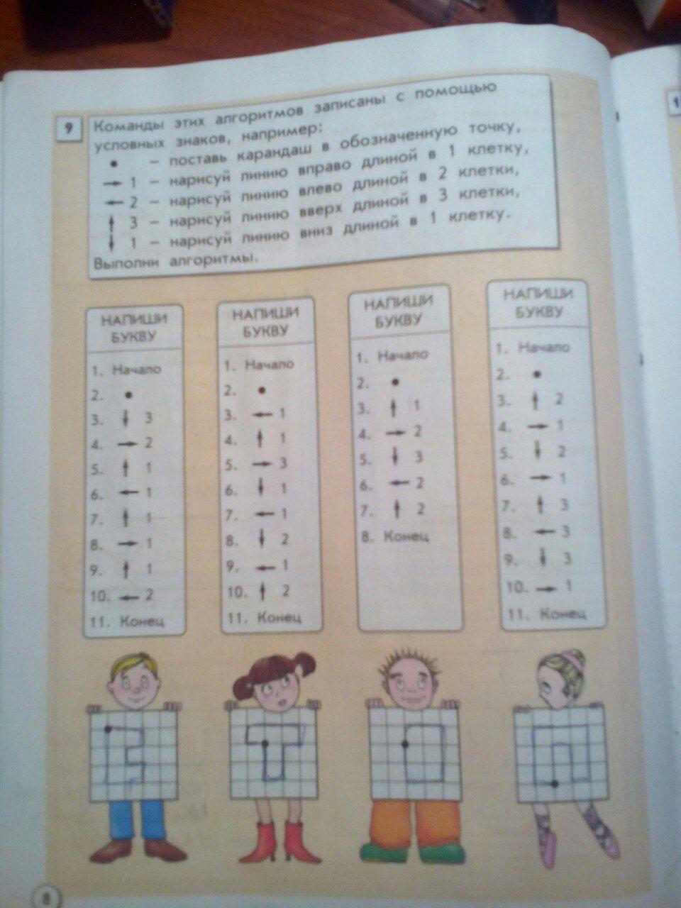 Информатика 3 класс горячев решебник без регистрации