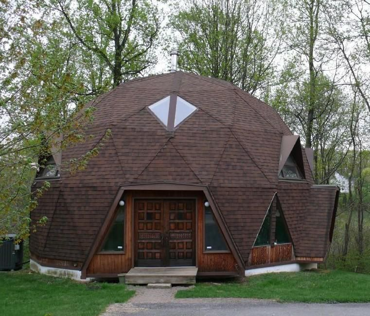 Round Dome Homes: A Quick Collection Of Images Of Geodesic Domes.